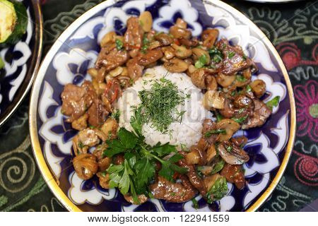 Plate With Roast Veal