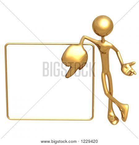 Giant Hand Presenter
