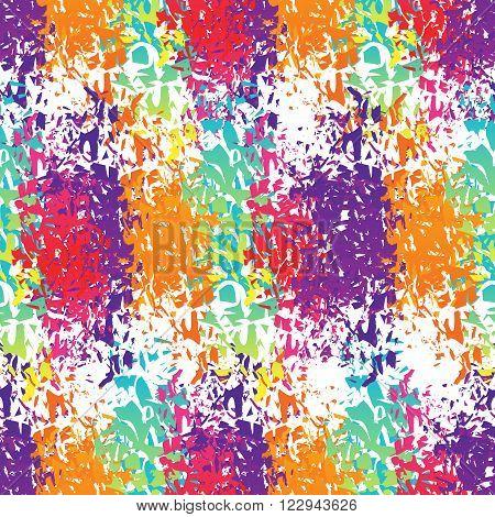 Holi Celebration. Holi Ornament Background. Holi Colour Stains. Holi Seamless Pattern. Holi Indian F