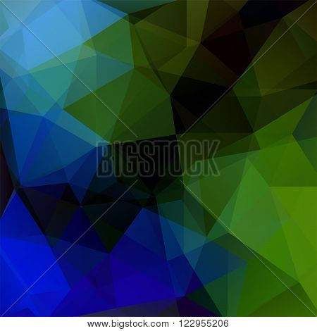 Abstract Geometric Style Dark Background. Dark Business Background Vector Illustration