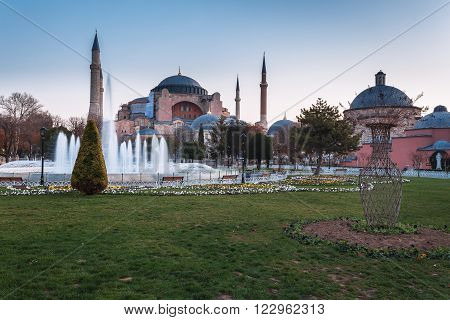 Aya Sofia. Istanbul - Turkey's largest city, a major commercial, industrial and cultural center, the main port of the country.