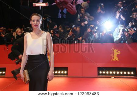 Actress Julia Malik attends the closing ceremony of the 66th Berlinale International Film Festival on February 20, 2016 in Berlin, Germany.