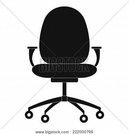 New chair icon. Simple illustration of new chair vector icon for web.