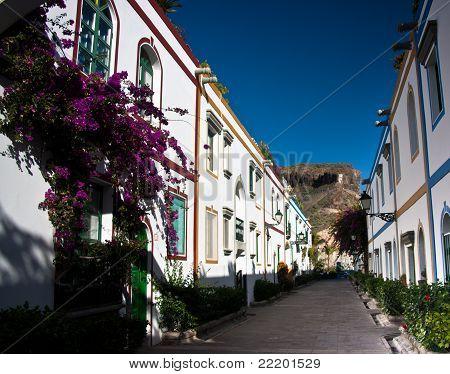 Pretty Street In Puerto Mogan