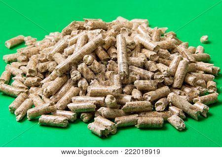 Wood Pellets. Biofuels. The Cat Litter