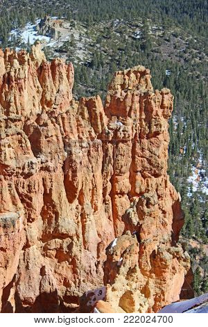Hoodoos in Bryce Canyon National Park, Utah