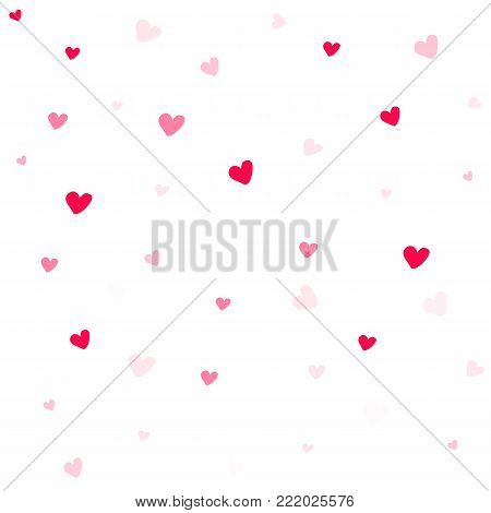 valentine background abstract. hearts texture. heart on white background. valentine day background.
