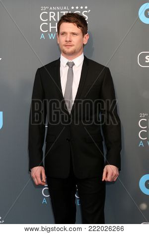 LOS ANGELES - JAN 11:  Steven Rogers at the 23rd Annual Critics' Choice Awards at Barker Hanger on January 11, 2018 in Santa Monica, CA