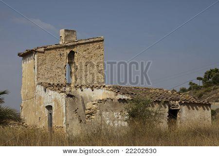 Ruined Spanish House