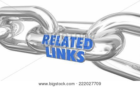 Related Links Chain Network More Information Linked 3d Illustration