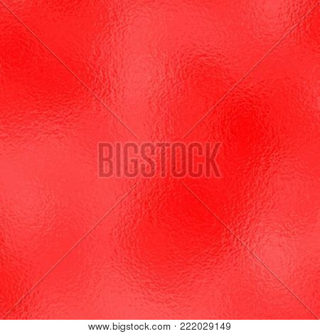 Vector red background. Red metallic texture template for holiday designs, party, birthday, wedding, invitation, web, banner, card.