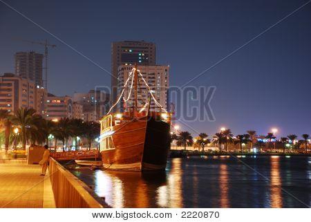 Boat In Sharjah City