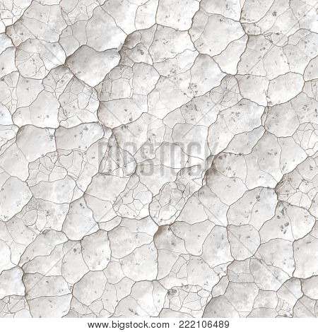 Abstract Cracked Broken Pattern -  Seamless Crackle Texture
