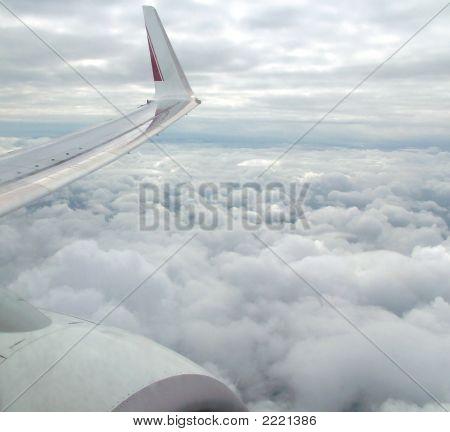 Flight In Clouds