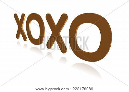 Programming Term - Xoxo - Extensible Open Xhtml Outlines -  3d Image