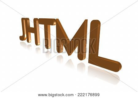 Programming Term - Jhtml  - Java Within Hypertext Markup Language -  3d Image