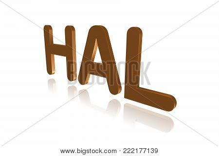 Programming Term - Hal  - Hardware Abstraction Layer - 3d Image