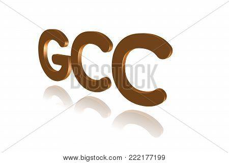 Programming Term - Gcc  - Gnu Compiler Collection - 3d Image