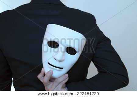 Fake Business Man With Clipping Path (concept Of Fraud)