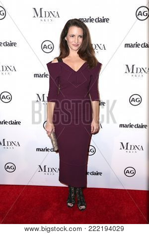 LOS ANGELES - JAN 11:  Kristin Davis at the Marie Claire Image Makers Awards 2018 at the Delilah on January 11, 2018 in West Hollywood, CA