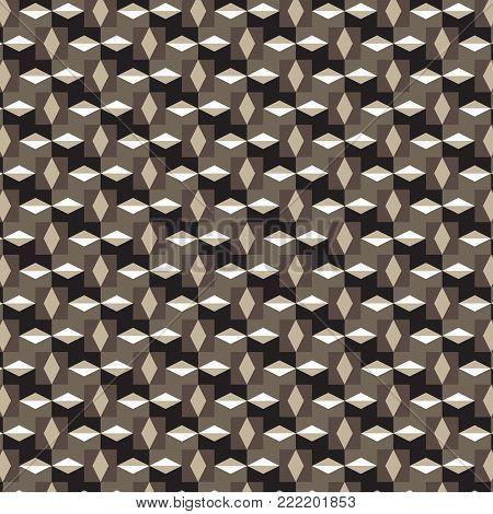 brown diamond and brown white horizontal diamond shape pattern black brown background vector illustration image