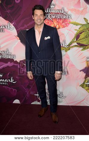 LOS ANGELES - JAN 13:  Brennan Elliot at the Hallmark Channel and Hallmark Movies and Mysteries Winter 2018 TCA Event at the Tournament House on January 13, 2018 in Pasadena, CA