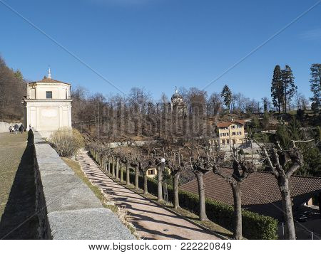 second chapel of the sacred mountain of Varese, unesco heritage of humanity