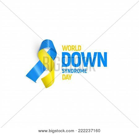 World down syndrome day, vector illustration template