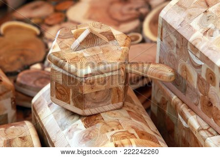 Boxes Of Wood