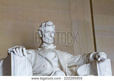 Abraham Lincoln, Lincoln Memorial, Washington DC US