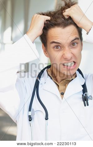 Funny and really angry doctor