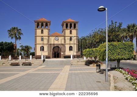 Church San Sebastian at Tenerife