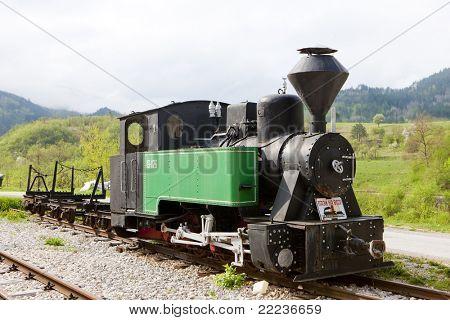 steam locomotive, Dobrun, Bosnia and Hercegovina poster