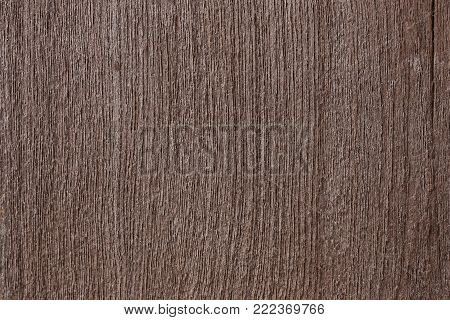 Close up of old wood background, brown background
