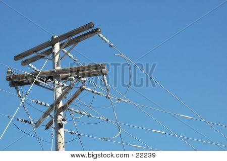 Phoneline Pole