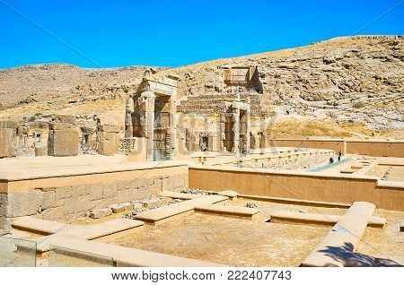Persepolis archaeological complex is the perfect place to visit and enjoy the ancient Persian history, architecture and art, Iran.