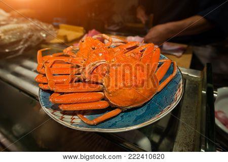 Japanese Snow Crab Or Zuwaikani In Japan .