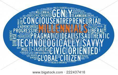 Millennial generation characteristics