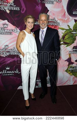 LOS ANGELES - JAN 13:  Lily Anne Harrison, Gregory Harrison at the Hallmark Channel and Hallmark Movies and Mysteries Winter 2018 TCA Event at the Tournament House on January 13, 2018 in Pasadena, CA