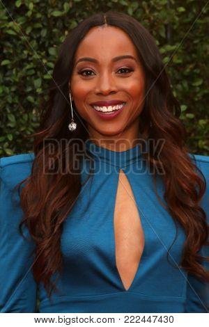 LOS ANGELES - JAN 15:  Erica Ash at the 49th NAACP Image Awards - Arrivals at Pasadena Civic Center on January 15, 2018 in Pasadena, CA