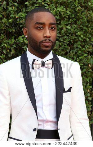 LOS ANGELES - JAN 15:  Marcc Rose at the 49th NAACP Image Awards - Arrivals at Pasadena Civic Center on January 15, 2018 in Pasadena, CA