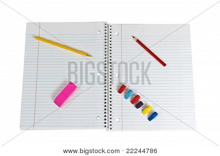 Spiral Notepad With Supplies