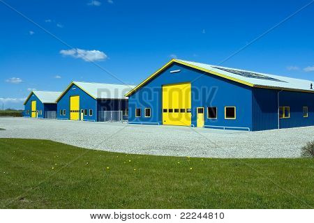 Industrial Delivery Building