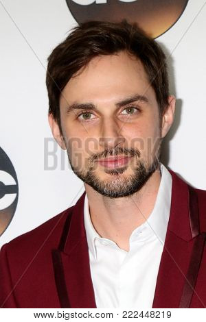LOS ANGELES - JAN 15:  Andrew J West at the 2018 NAACP Image Awards at Convention Center on January 15, 2018 in Pasadena, CA