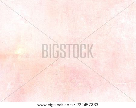 Subtle background in soft light pink pastel watercolor - abstract pale spring texture