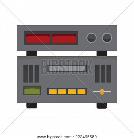 Audio Studio Controller Stereo Vector Illustration Graphic Design