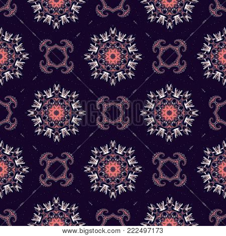 Seamless background with Spiral Pattern. You can use it for invitations, notebook covers, phone case, postcards, cards and so on. Artwork for creative design, art and entertainment.