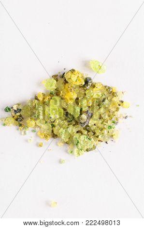 Photo of olivine gemstone also called peridot