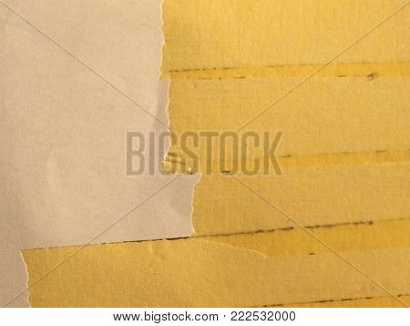 Yellow Paper Adhesive Tape Texture Useful As A Background