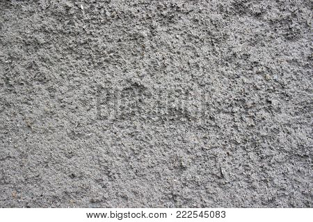 Abstract rough cast wall texture grey background